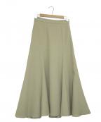 IENA(イエナ)の古着「マーメイドデザインスカート」|ベージュ