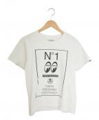 NEIGHBORHOOD()の古着「プリントTシャツ」|ホワイト