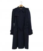 tricot COMME des GARCONS()の古着「トレンチコート」 ネイビー