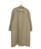 J.PRESS(ジェイプレス)の古着「[古着]ライナー付比翼コート」|ベージュ