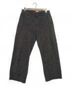 POST O'ALLS(ポストオーバーオールズ)の古着「ワークパンツ」|グレー