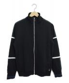 PS Paul Smith(ピーエスポールスミス)の古着「カラーブロックトラックジャケット」|ブラック