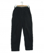 MHL.(エムエイチエル)の古着「コットンパンツ」|ブラック