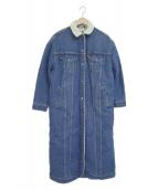 LEVIS(リーバイス)の古着「デニムボアジャケットロングホール」|インディゴ