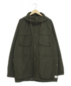 SASSAFRAS(ササフラス)の古着「フーデッドジャケット」|オリーブ