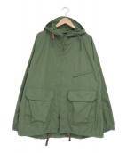 Engineered Garments(エンジニアドガーメンツ)の古着「フーデッドジャケット」|オリーブ