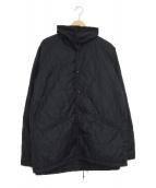 SASSAFRAS(ササフラス)の古着「キルティングジャケット」|ブラック