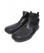 PRADA(プラダ)の古着「チェルシーブーツ」|ブラック