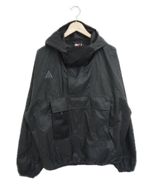 NIKE ACG(ナイキエージーシー)NIKE ACG (ナイキエィシージー) アノラックフーディー ブラック サイズ:L ANORAK HD CD7635-010の古着・服飾アイテム