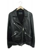 ALL SAINTS(オールセインツ)の古着「シープスキンジャケット」|ブラック