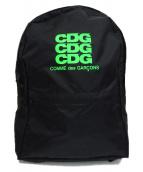 CDG(コムデギャルソン)の古着「ナイロンリュック」|ブラック