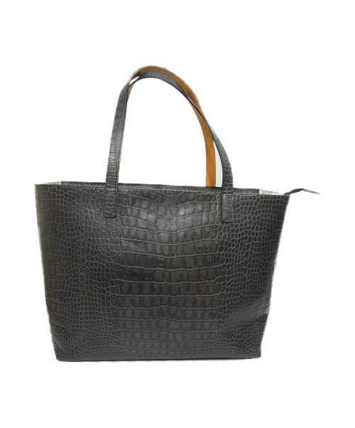 A'KAH()A'KAH (-) トートバッグ グレー サイズ:下記参照 オーダーブランドの古着・服飾アイテム
