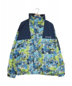 Columbia(コロンビア)の古着「ウルフロードジャケット」 ブルー×ネイビー