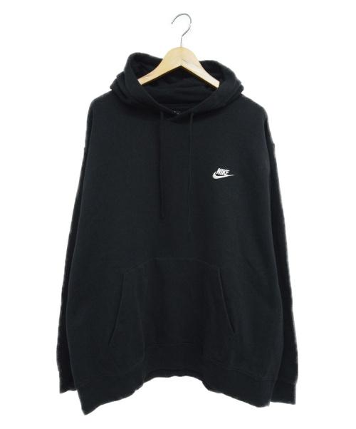 NIKE(ナイキ)NIKE (ナイキ) プルオーバーパーカー ブラック サイズ:2XL Pullover Hoodie With Swoosh Logoの古着・服飾アイテム