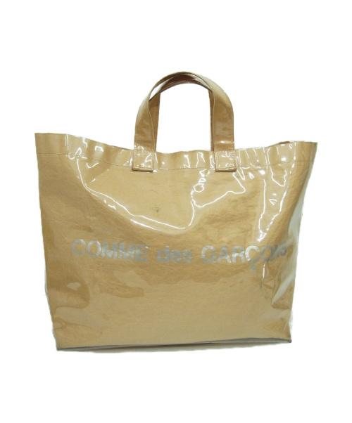 COMME des GARCONS(コムデギャルソン)COMME des GARCONS (コムデギャルソン) PVCトートバッグ ベージュ サイズ:下記参照の古着・服飾アイテム