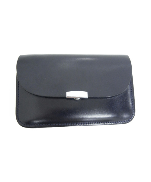 digawel(ディガウェル)DIGAWEL (ディガウェル) レザーウォレット ネイビー サイズ:下記参照 GARSON PURSE -Bridle leatherの古着・服飾アイテム
