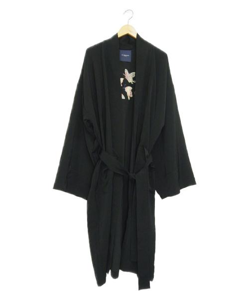 RAINMAKER(レインメーカー)RAINMAKER (レインメーカー) エンブロイダードオリエンタルコート ブラック サイズ:F EMBROIDERED ORIENTAL COAT RM192-002の古着・服飾アイテム