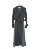 AMERI(アメリ)の古着「ディティールコート」|ブラック