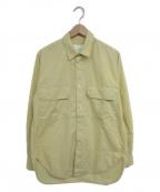 STUDIO NICHOLSON(スタジオニコルソン)の古着「キュービックシャツ」|アイボリー