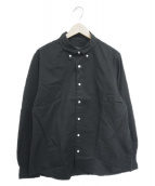 ()の古着「ボタンダウンシャツ」|ブラック