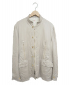 ()の古着「スタンドカラーブルゾン」|ベージュ
