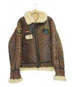 TEDMAN'S(テッドマン)の古着「B-3フライトジャケット」|ブラウン