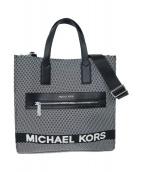 MICHAEL KORS(マイケルコース)の古着「ロゴトートバッグ」 ブラック
