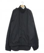 -(-)の古着「[古着]リメイクスタンドカラーコート」 ネイビー