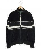 daniel patrick(ダニエルパトリック)の古着「ベロアトラックジャケット」|ブラック