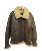 -(-)の古着「[古着]B-3ジャケット」 ブラウン