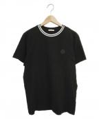 MONCLER()の古着「ワンポイントTシャツ」|ブラック