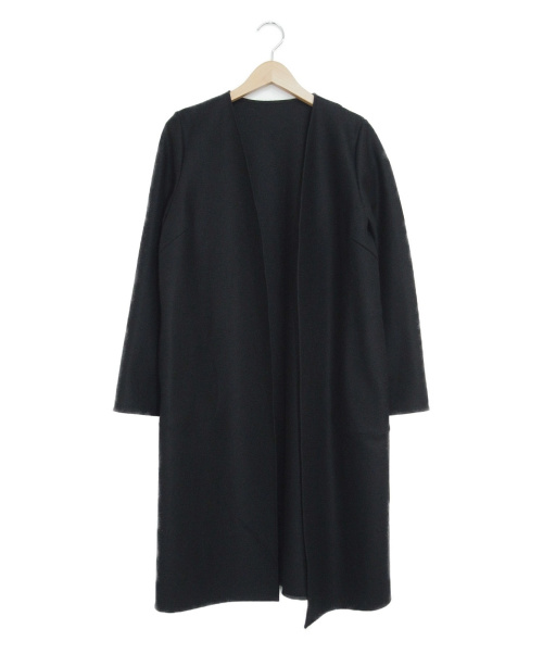ANAYI(アナイ)ANAYI (アナイ) ウールトッパーコート ブラック サイズ:36の古着・服飾アイテム