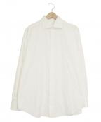 BRIONI(ブリオーニ)の古着「ドレスシャツ」 ホワイト