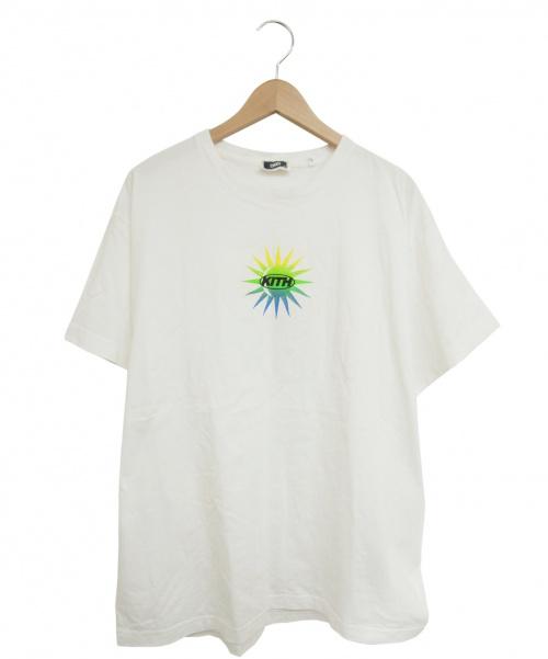 KITH(キス)KITH (キス) プリントTシャツ ホワイト サイズ:XLの古着・服飾アイテム