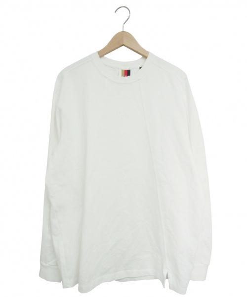 KITH(キス)KITH (キス) ロングスリーブロゴカットソー ホワイト サイズ:Lの古着・服飾アイテム
