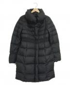 MAX&Co.()の古着「ショールカラーダウンコート」 ブラック