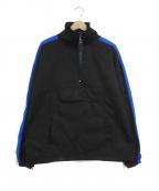 daniel patrick(ダニエルパトリック)の古着「ナイロンアノラックジャケット」|ブルー×ブラック