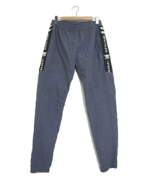 Kappa × A.FOUR LABS(カッパ×エーフォーラブス)Kappa × A.FOUR LABS (カッパ×エーフォーラブス) イージーパンツ ネイビー サイズ:Mの古着・服飾アイテム