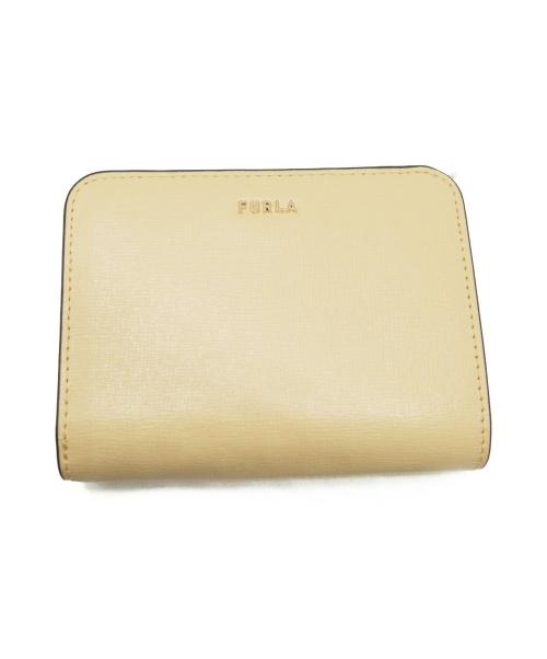 FURLA(フルラ)FURLA (フルラ) 2つ折り財布 イエロー サイズ:下記参照 BABYLON M ZIP AROUNDの古着・服飾アイテム