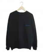 daniel patrick(ダニエルパトリック)の古着「ポケットスウェット」|ブラック