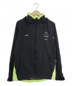 F.C.R.B.(エフシーアールビー)の古着「ウォームアップジャケット」 グリーン×ブラック
