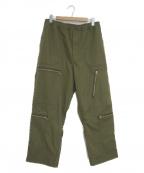 DAIWA PIER39(ダイワ ピアサーティンナイン)の古着「テックパラシュートパンツ」 オリーブ