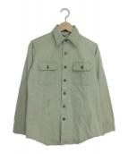 ()の古着「[古着]コットンシャツ」 ライトブルー