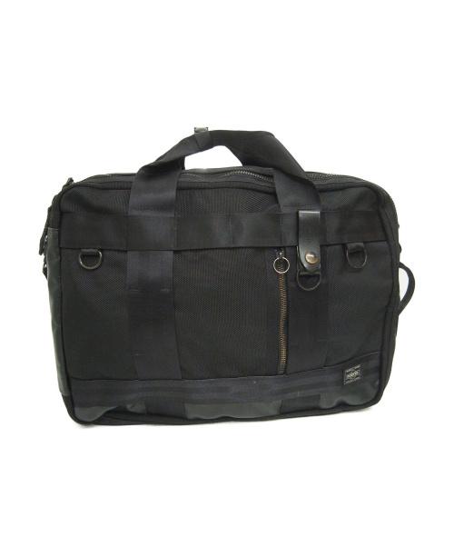 PORTER(ポーター)PORTER (ポーター) 3WAYブリーフケース ブラック サイズ:下記参照 HEAT 703-06980の古着・服飾アイテム