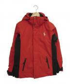 RALPH LAUREN()の古着「中綿ジャケット」|レッド