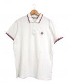 MONCLER()の古着「ポロシャツ」|ホワイト