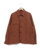 ()の古着「カバーオール」 ブラウン