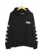 SSZ × VANS(エスエスズィー×バンズ)の古着「プルオーバーパーカー」|ブラック