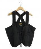 Comfy Outdoor Garment(コンフィーアウトドアガーメンツ)の古着「ハンンティングベスト」|ブラック