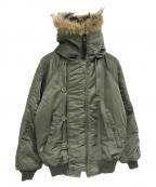 SPIEWAK(スピワック)の古着「N-2Bジャケット」|オリーブ